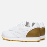 Reebok x Born X Raised CL Leather Sneakers White/Brown photo- 2