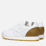 Кроссовки Reebok x Born X Raised CL Leather White/Brown фото- 2