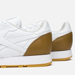 Reebok x Born X Raised CL Leather Sneakers White/Brown photo- 5
