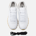 Reebok x Born X Raised CL Leather Sneakers White/Brown photo- 4