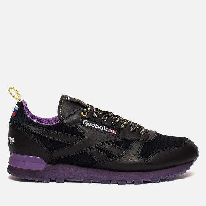Кроссовки Reebok x Brandshop Classic Leather Black/Baseball Grey