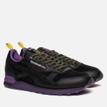 Кроссовки Reebok x Brandshop Classic Leather Black/Baseball Grey фото- 1