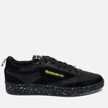 Кроссовки Reebok x Faces&Laces Club C 85 Black/Hero Yellow/Silver/White фото- 0