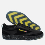Кроссовки Reebok x Faces&Laces Club C 85 Black/Hero Yellow/Silver/White фото- 2