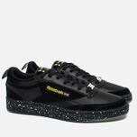 Кроссовки Reebok x Faces&Laces Club C 85 Black/Hero Yellow/Silver/White фото- 1