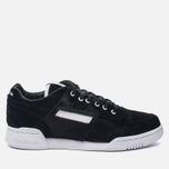 Кроссовки Reebok x Foot Patrol Workout Lo Plus Black/White/Royal/Red фото- 0
