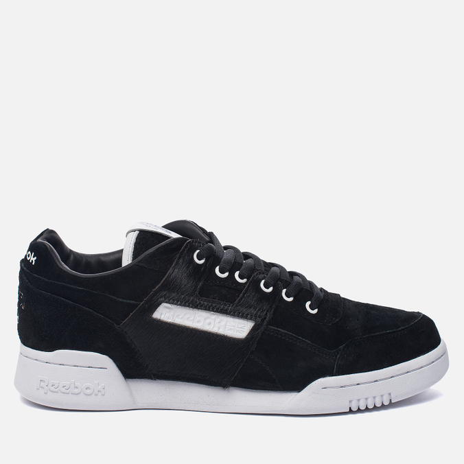 Кроссовки Reebok x Foot Patrol Workout Lo Plus Black/White/Royal/Red