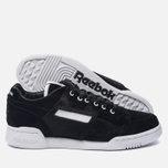 Кроссовки Reebok x Foot Patrol Workout Lo Plus Black/White/Royal/Red фото- 1