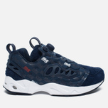 Кроссовки Reebok x Hall Of Fame Instapump Fury Road Navy/White/Red фото- 0