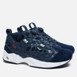 Кроссовки Reebok x Hall Of Fame Instapump Fury Road Navy/White/Red фото- 1