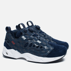 Кроссовки Reebok x Hall Of Fame Instapump Fury Road Navy/White/Red
