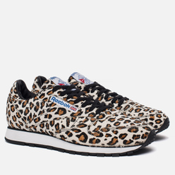 Кроссовки Reebok x Head Porter Plus Classic Leather Leopard/White/Black