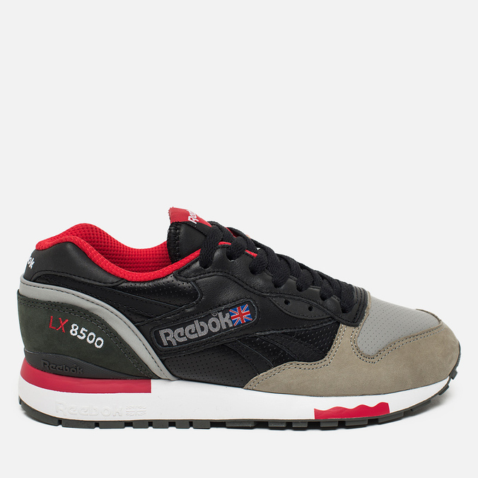 sale retailer ce85a e0023 Кроссовки Reebok x Highs   Lows LX 8500 Suede Black Grey Red White ...