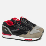 Кроссовки Reebok x Highs & Lows LX 8500 Suede Black/Grey/Red/White фото- 1