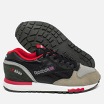 Кроссовки Reebok x Highs & Lows LX 8500 Suede Black/Grey/Red/White фото- 2