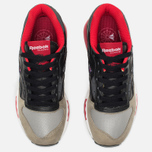 Кроссовки Reebok x Highs & Lows LX 8500 Suede Black/Grey/Red/White фото- 3