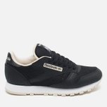 Кроссовки Reebok CL Leather Journal Standard Black/White/Stucco фото- 0