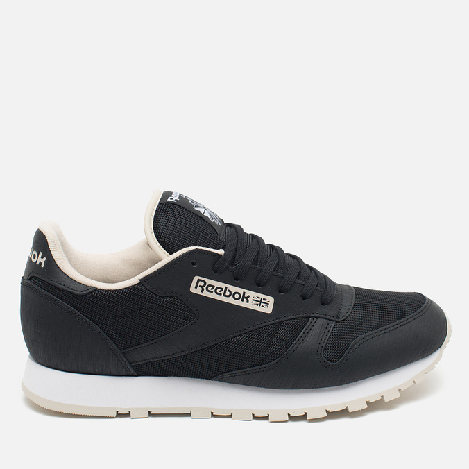 Кроссовки Reebok CL Leather Journal Standard Black/White/Stucco