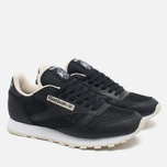 Кроссовки Reebok CL Leather Journal Standard Black/White/Stucco фото- 1