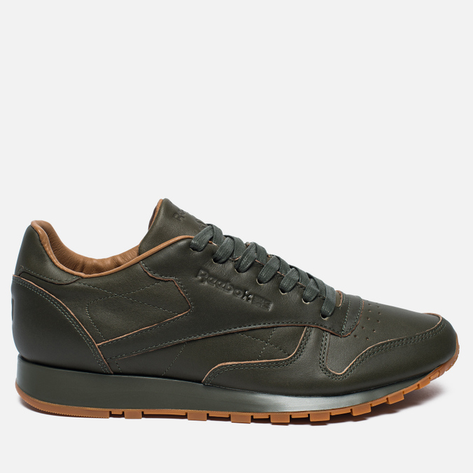 Мужские кроссовки Reebok x Kendrick Lamar Classic Leather Lux Olive Night/Black/Gum