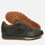Мужские кроссовки Reebok x Kendrick Lamar Classic Leather Lux Olive Night/Black/Gum фото- 1