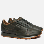 Мужские кроссовки Reebok x Kendrick Lamar Classic Leather Lux Olive Night/Black/Gum фото- 2