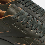 Мужские кроссовки Reebok x Kendrick Lamar Classic Leather Lux Olive Night/Black/Gum фото- 3
