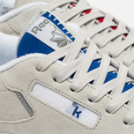 Кроссовки Reebok x Kendrick Lamar Classic Leather Skull Grey/Royal Red/White фото- 6