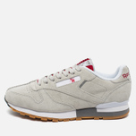 Кроссовки Reebok x Kendrick Lamar Classic Leather Skull Grey/Royal Red/White фото- 1