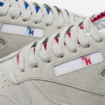 Кроссовки Reebok x Kendrick Lamar Classic Leather Skull Grey/Royal Red/White фото- 7