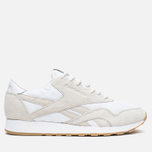 Кроссовки Reebok x Maison Kitsune CL Nylon Arctic Fox Kit White/Chalk/Gum фото- 0