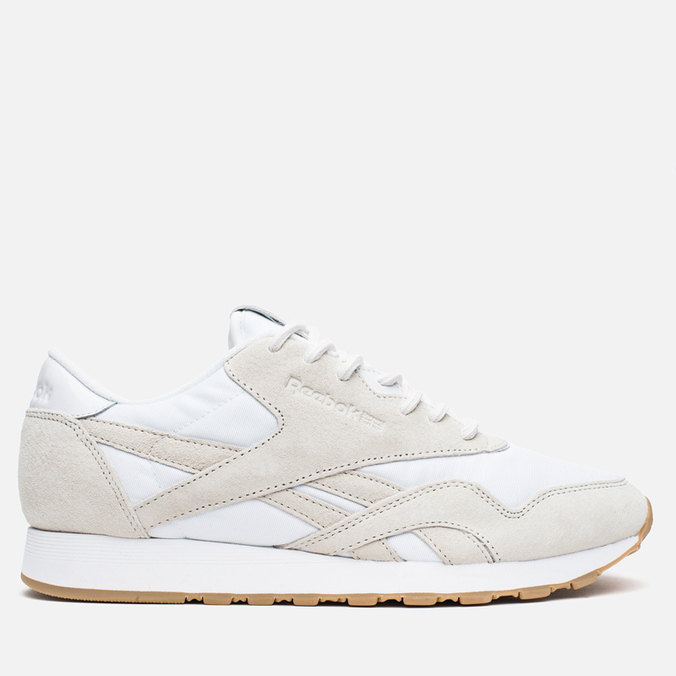 Кроссовки Reebok x Maison Kitsune CL Nylon Arctic Fox Kit White/Chalk/Gum
