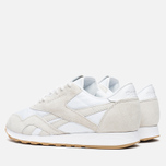 Кроссовки Reebok x Maison Kitsune CL Nylon Arctic Fox Kit White/Chalk/Gum фото- 2
