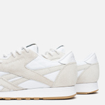 Кроссовки Reebok x Maison Kitsune CL Nylon Arctic Fox Kit White/Chalk/Gum фото- 5