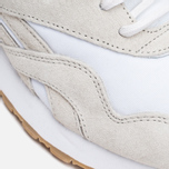 Кроссовки Reebok x Maison Kitsune CL Nylon Arctic Fox Kit White/Chalk/Gum фото- 7