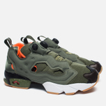 Кроссовки Reebok x Mita x Winchie Instapump Fury OG Olive/Orange/White фото- 1
