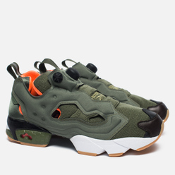 Кроссовки Reebok x Mita x Winchie Instapump Fury OG Olive/Orange/White