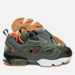 Кроссовки Reebok x Mita x Winchie Instapump Fury OG Olive/Orange/White фото- 2
