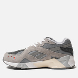 Кроссовки Reebok x Packer Shoes Aztrek Tin Grey/Flint Grey/Alloy фото- 1