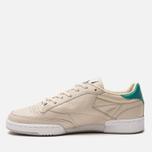 Кроссовки Reebok x Packer Shoes Club C 85 Stucco/Paperwhite/Emerald Haze/Zinc Grey фото- 1