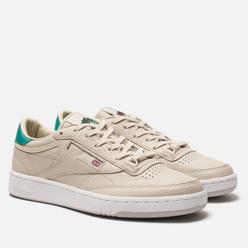Кроссовки Reebok x Packer Shoes Club C 85 Stucco/Paperwhite/Emerald Haze/Zinc Grey