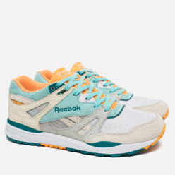 Кроссовки Reebok x Packer Shoes Ventilator CN Four Seasons Paper White/Crystal Blue