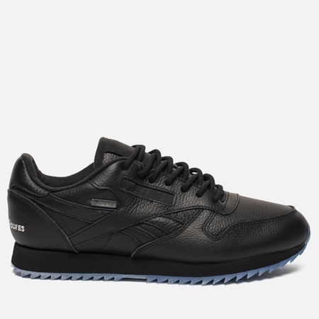 Мужские кроссовки Reebok x Raised By Wolves Classic Leather Ripple Gore-Tex Black/White/Ice