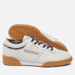 Кроссовки Reebok x Sneaker Politics x Humidity Workout Lo Clean CN White/Black/Camo/Gum фото- 1