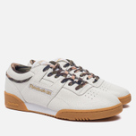 Кроссовки Reebok x Sneaker Politics x Humidity Workout Lo Clean CN White/Black/Camo/Gum фото- 2