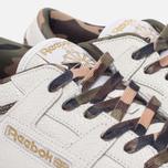 Кроссовки Reebok x Sneaker Politics x Humidity Workout Lo Clean CN White/Black/Camo/Gum фото- 3