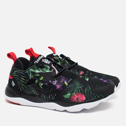 Кроссовки Reebok x STAYREAL Furylite AFF TXT Black/Motor Red/White