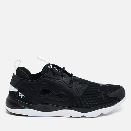 Reebok x STAYREAL Furyite AFF TXT Sneakers Black/White