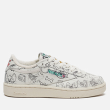 Кроссовки Reebok x Tom & Jerry Club C 85 Chalk/Paper White/Excellent Red фото- 3