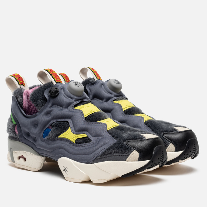 Кроссовки Reebok x Tom & Jerry Instapump Fury OG Cold Grey/Hero Yellow/Black